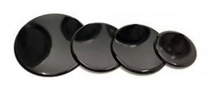 Крышки горелок плиты GEFEST 4шт. оксидированные на модели плит 1100, 1200, 1300, 3100, 3200, 3300