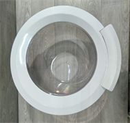 Люк стиральной машины Bosch Simens 402048 серый зам. UNI402046=402046, 00704286=704286, 704287=00704287, DWM002BO