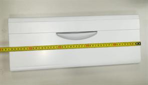 Панель ящика холодильника Атлант на корзину средняя, белая, не откидная 47x18.5см 301540101200