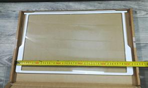 Полка стеклянная холодильника Indesit C00507848 зам. 267567, 850910, 850920, 850924, 256492, 267892, 283167