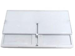 Поддон морозилки холодильника Бирюса 6,10 со шторкой 0004002000