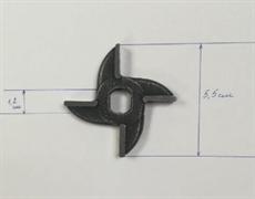 Нож мясорубки МИМ-75 без бурта двухсторонний