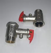 Клапан предохранительный 1/2 c ручкой WTH901UN зам. 180404, WTH902UN, 032065, 571706, 487371