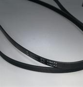 Ремень 1184 J5 черный 1185мм Hutchinson BLJ158UN стиральной машины зам. 481935810037, 378043, C00378043, 52X0032