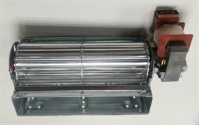 Вентилятор духовки плиты тангенциальный правый L-180x20mm 22w 16vn16