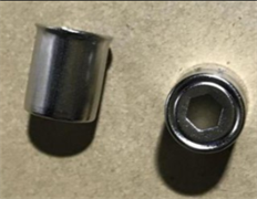 Колпачок магнетрона СВЧ 14.5mm/H18 шестигранник MA0372W зам. KMG014, klp014