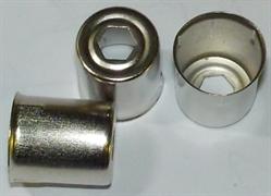 Колпачок магнетрона СВЧ Samsung D=14mm шестигранное отверстие KMG014 зам. MA0372W, klp014