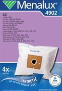 Мешки Menalux 4902, Синтетические, для пылесоса LG, тип мешка TB-36, 4-пылесборника + 1-микрофильтр.