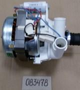 Мотор циркуляционный посудомойки Indesit Ariston C00083478 зам. DG6145, DG6345, D41, D42, IDL, LSV46, LV46, LS248, LV460, LL40, LL42, LL43, CISLI, LI470, 076627? зам. 482000022719