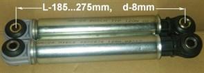 Амортизатор 120N MIELE L-185...275mm d-8mm 12ph28 зам. 4500826, 107654, 12ph06, SAR001MI, WK230, 78MI101