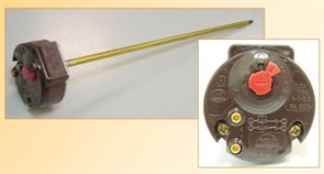 Термостат в/н RTS3 300 65/75°C 16A 250V круглый с термозащ. 181316 зам. 3412058, 181385, 3412042, 181310