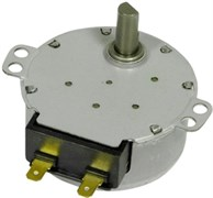 Мотор поддона СВЧ LG Bosch 6549W1S018A зам. 20tm55, 20tm29, 00489688=489688, 00417710=417710, UNI609606=609606