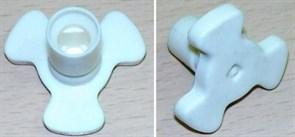 Коуплер H-21.5/4.5mm, d7 коричневый/белый 95TR01