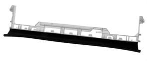 Уплотнитель двери ПММ Bosch Siemens 11003600 зам. 11027722, 11022732
