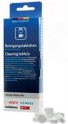 Таблетки от накипи для кофемашин BOSCH 10шт 311969 зам. 00311969, 00311556=311556, 310967, 00310452=310452, TCZ6002, DET201BO