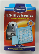 Hepa-фильтр для пылесосв LG: House-sprite II VC371.., V-C 52..,  House-sprite Duo FLG 3