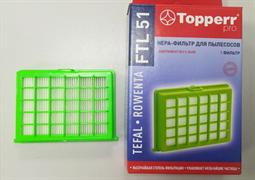 Hepa-фильтр для пылесосов Tefal TW52..,TW264.,TW242. Rowenta RO52..,RO26..,RO24..(ZR0 FTL 51