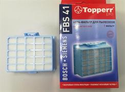 Hepa-фильтр для пылесосов Bosch BGS1..,BGC1..,BGS2..,BGB2..,BGL2..,BGL3.,BGL4.,BGLS4. FBS 41
