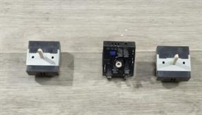 Переключатель режимов EGO 13A 240V, шток-22mm БУ варочной поверхности IKEA LAGAN HGC3K зам. COK352UN  50.57071.010, 50.87071.000, 5057071010, 5087071000,  6486buf