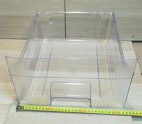 Ящик Бирюса 112,114 верхний 400x310x135мм прозрачный зам. 000003000001