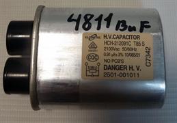 Конденсатор СВЧ бу 0,91mF Samsung M187GNR зам. 4811buf