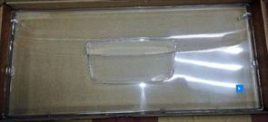 Панель ящика морозильной камеры холодильника Ariston Indesit 20x45см 283521 зам. C00857274=857274, C00283520=283520, зип 148032954-2-2