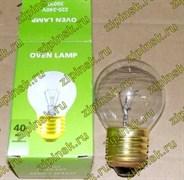 Лампочка духовки цоколь E27 40W 300° D=45mm 33CU502 зам. 33CU102, UNI5530406, 55304068