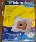 Мешки Menalux 1002, Синтетические, для пылесоса AEG, Electrolux, Zanussi, 5-пылесборников + 1-микрофильтр 9001961367