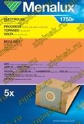 Мешки Menalux 1750P, Бумажные, для пылесоса Electrolux, Moulinex, Rowenta, Hoover., 5-пылесборников 9001664193