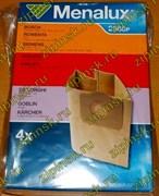 Мешки Menalux 2585P, Бумажные, для пылесоса Bosch, Siemens, Rowenta, Karcher, Philips, Hoower 9001961748