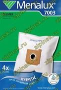Мешки Menalux 7003, Синтетические, для пылесосов Zelmer, 4-пылесборника + 1-моторный фильтр + 1-микро-фильтр. 9002563360