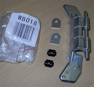 Петля люка на СМА BOSCH Siemens WB018 зам. 153150, 74BS001, DRH000BY