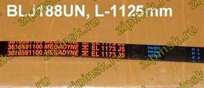 Ремень 1173 J5_EL, черный 1125мм PoU megadyne BLJ188UN зам. WN561, M908092003020, WN715, 72117300