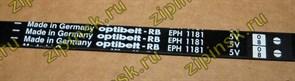 Ремень 1181 H7 черный optibelt BLH115UN зам. 059721=C00059721, C00066521, 066521, 72118103, WN718, BLH116UN