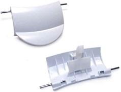 Ручка люка стиральной машины Bosch с крючком DHL005BO зам. 183608+184435, 483087, WL238, WL238B, WL238A, 609216