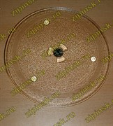 Тарелка СВЧ 255мм с креплением 2руб SAMSUNG зам.MCW014UN, MA0115W, N722, DE74-00027A 95pm16