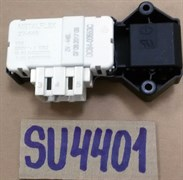 Замок люка УБЛ Устройство блокировки люка metalFlex Samsung ZV-446L SU4401 зам. DC64-00653A, DC64-00653C, SU4400, INT000SA, WM2069W, WF249