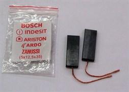 Щетки угольные 5x12.5x35mm МОНОМАТЕРИАЛ, комплект 2шт зам.481281719413, UN125mo, N52, CAR011UN UN125